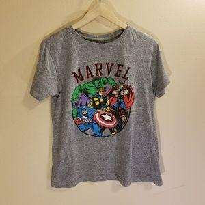 Marvel gray graphic tee